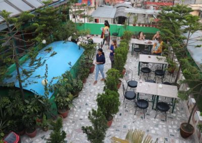 Rooftop view nepalaya