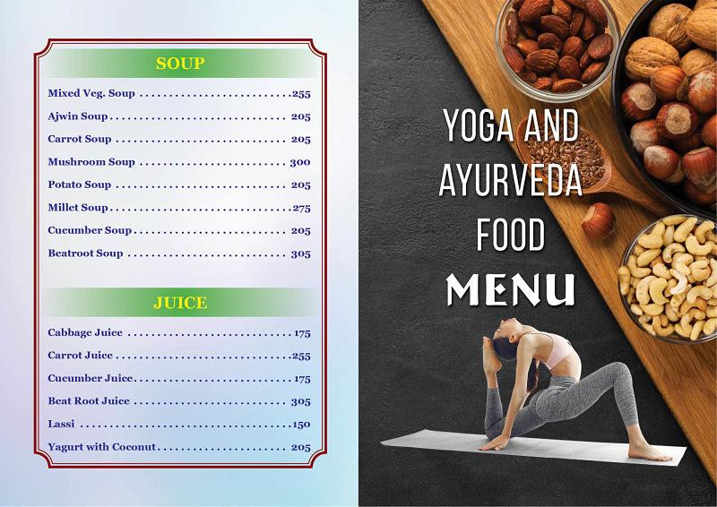 yoga menu1